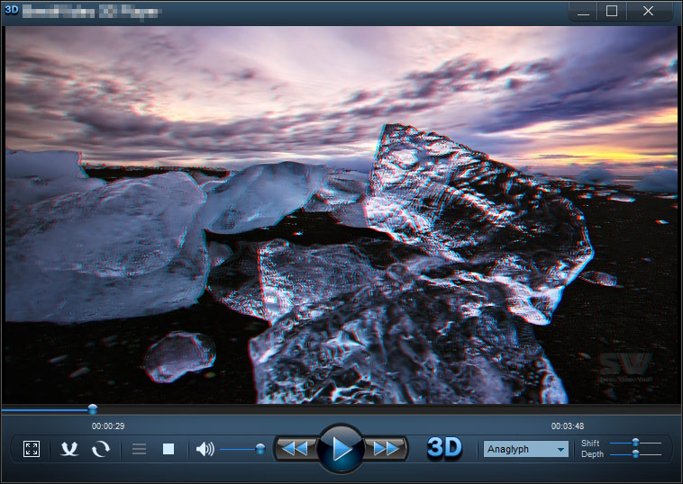 Best 3d space, warp, relaxing media player visualizations.