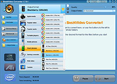 Screen Blackberry Converter