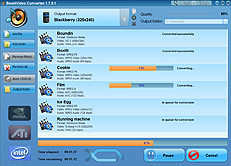 Screeen Blackberry Converter