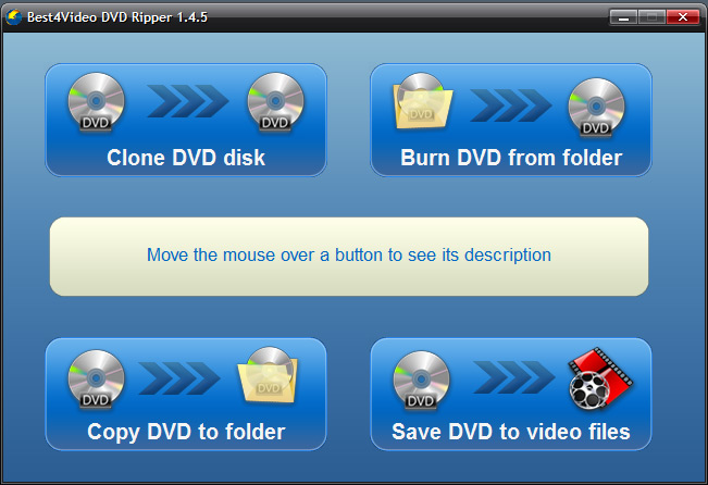 Best4Video DVD Ripper Screen shot