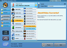 Screen Sony Walkman Converter